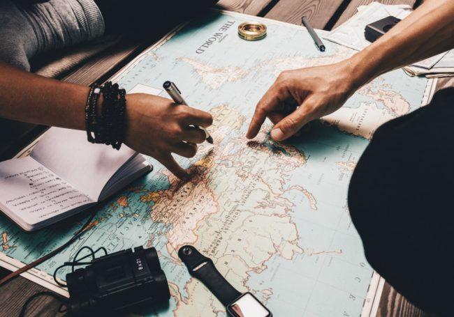 mavebalance på rejsen - turistmave